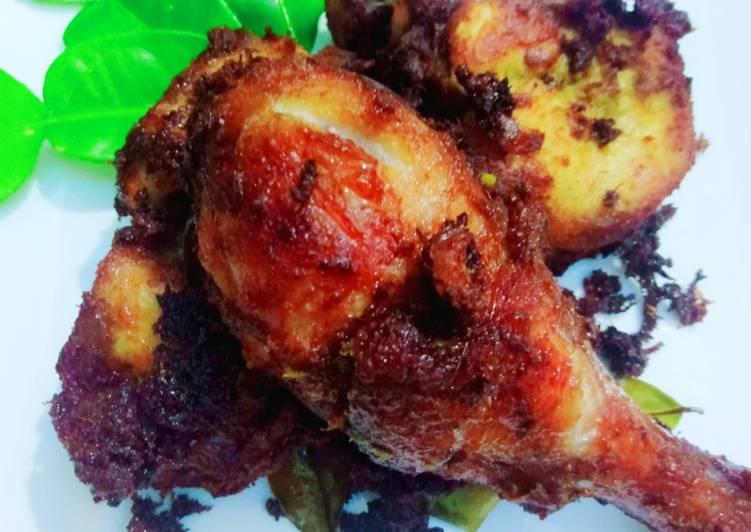 Ayam Goreng Berempah ala Chef Adu (MasterChef) - velavinkabakery.com