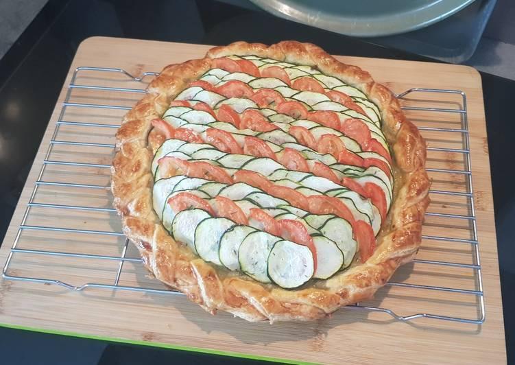 Ma tarte du soleil version pesto