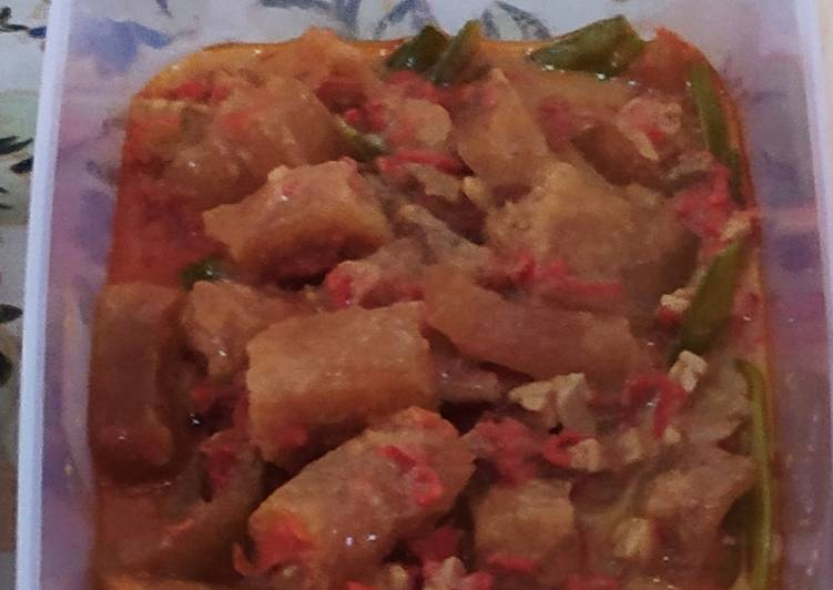 Sambel goreng krecek dan kentang