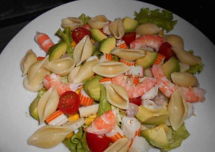 Salade fraîcheur océane
