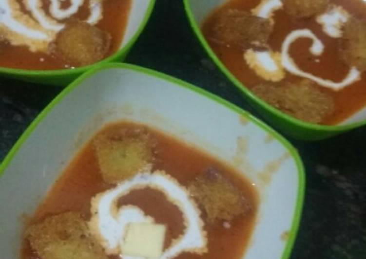 Recipe of Perfect Tomato soup