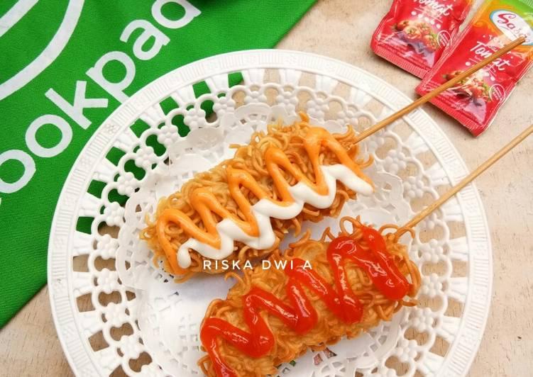 Hotdog Indomie (#PR_CemilanJamanNow)