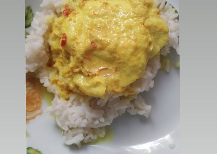 Cara Gampang Membuat Telur warisan nenek (telur kuah santan kuning) Anti Gagal
