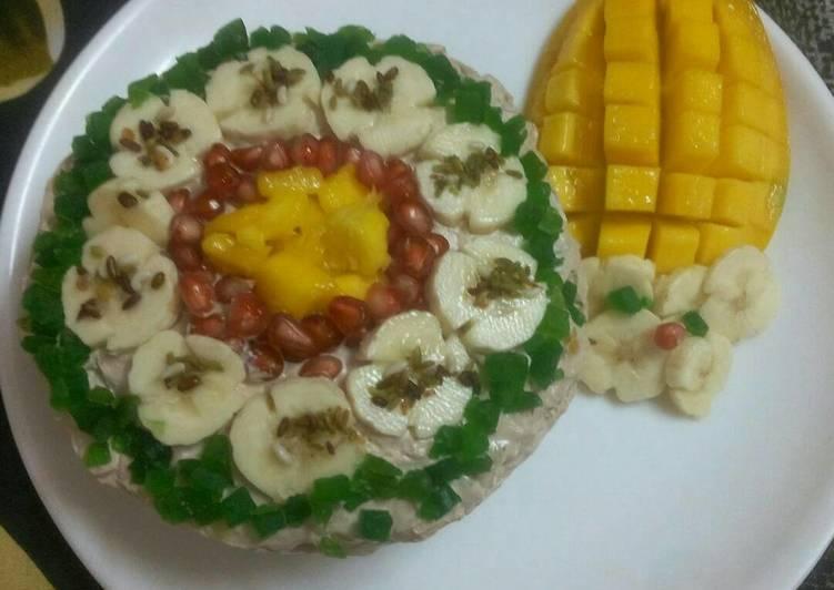 Mango banana cake