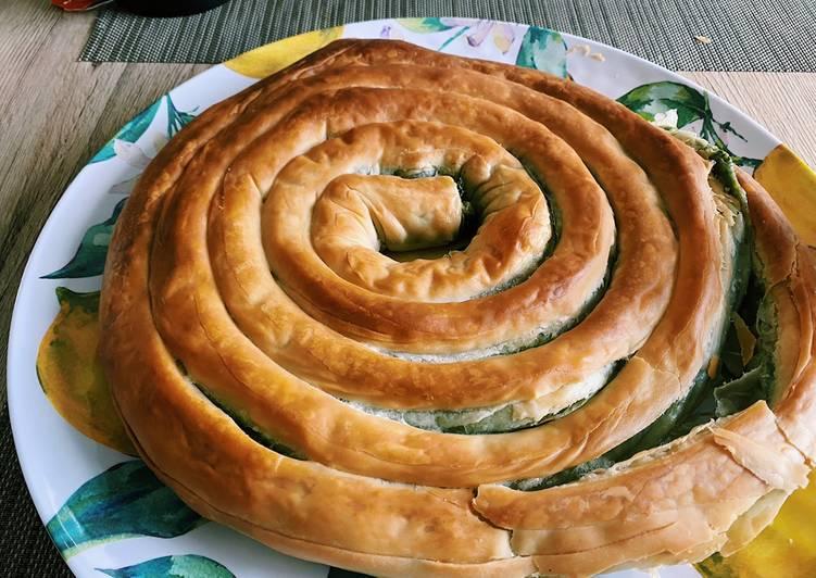 Spanakopita! A very very good spinach pie!
