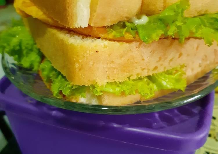Resep Sandwich Paling Gampang