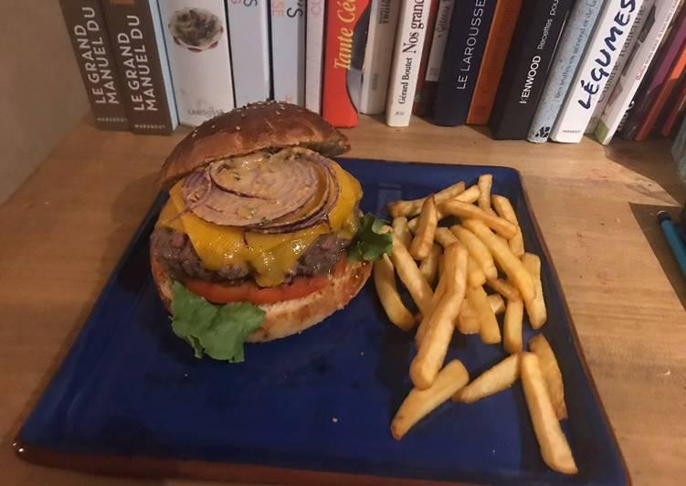 Façon la plus simple Cuisiner Appétissant Big burger maison