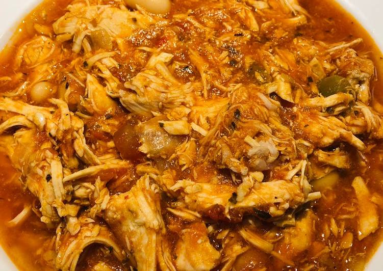 Easiest Way to Make Delicious Shredded Chicken ? Tomato ? Soup ?