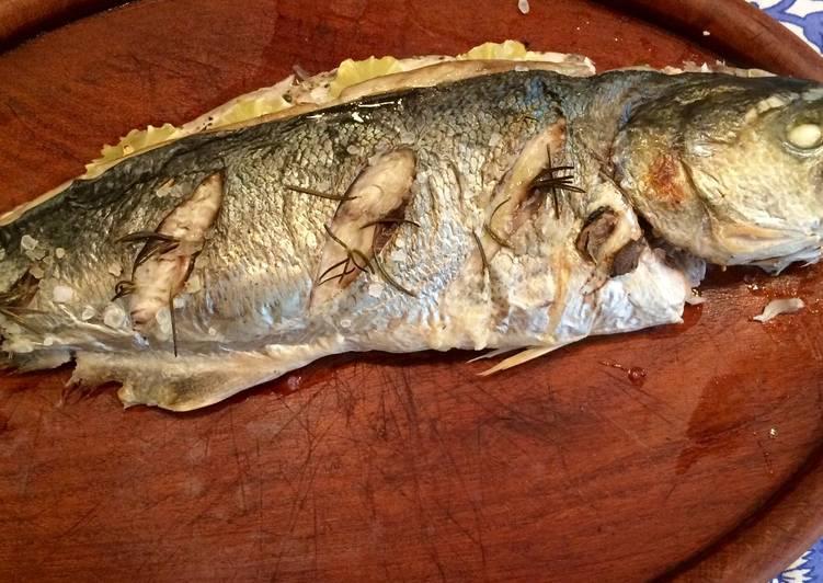 Pescado Entero Al Horno Gourmet Fácil Y Rápido Receta De