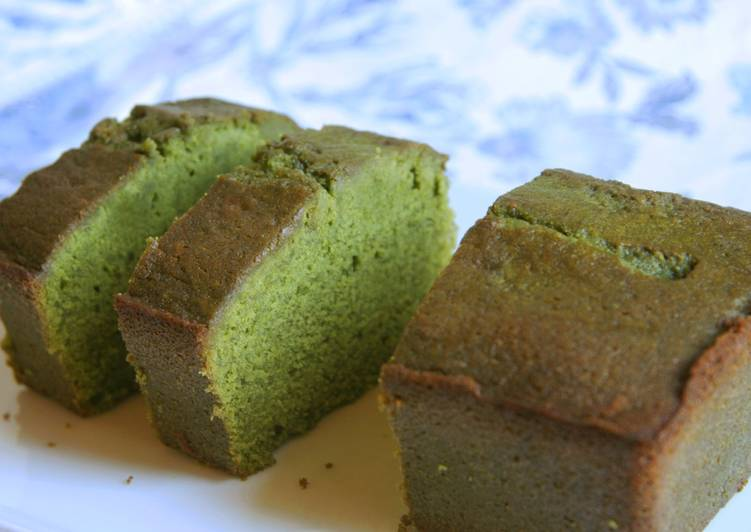 Our best Matcha Pound Cake