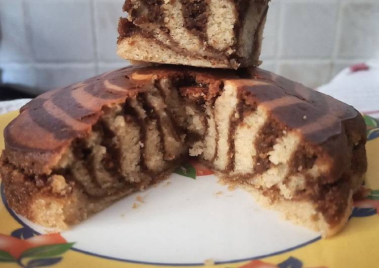 30 Minute Steps to Make Favorite Coffee marble cake