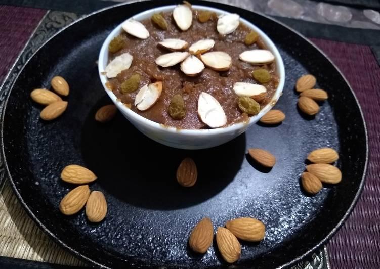 Recipe of Award-winning Chestnut flour halwa