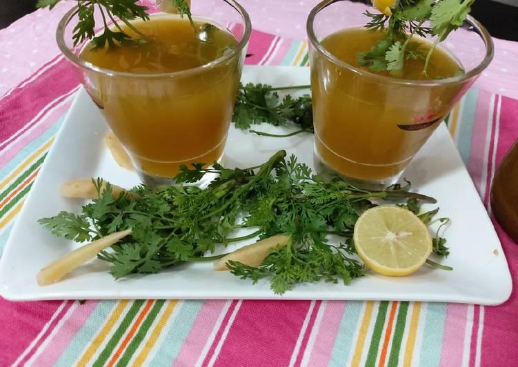 Food This to Cook Homemade Guys Lemon and tarmaric amla ginger tea/ this tea naice for emmunity