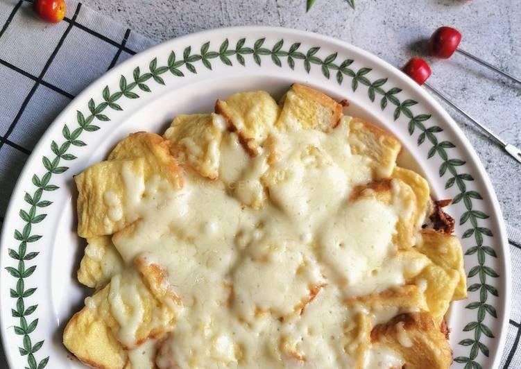 Cara Mudah Masak: Eggs Pizza  Dirumah