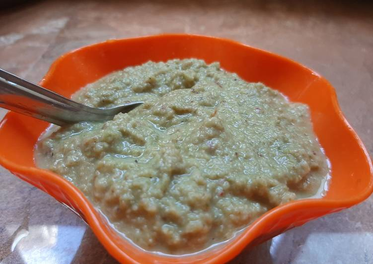 How to Make Delicious Ridg Gourd Peels Chutney It is rich in fibers vits minerals