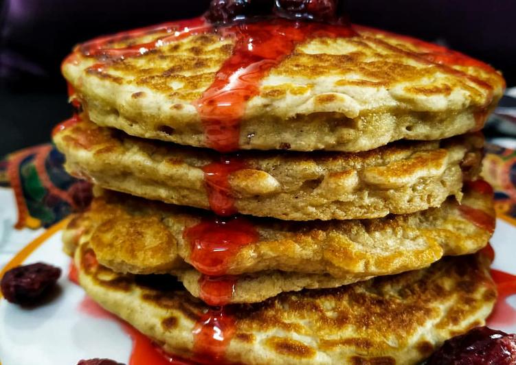 Whole wheat Oats Pancakes