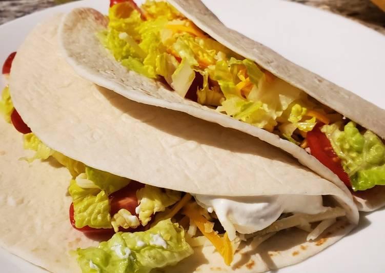 Instapot Soft Chicken Tacos