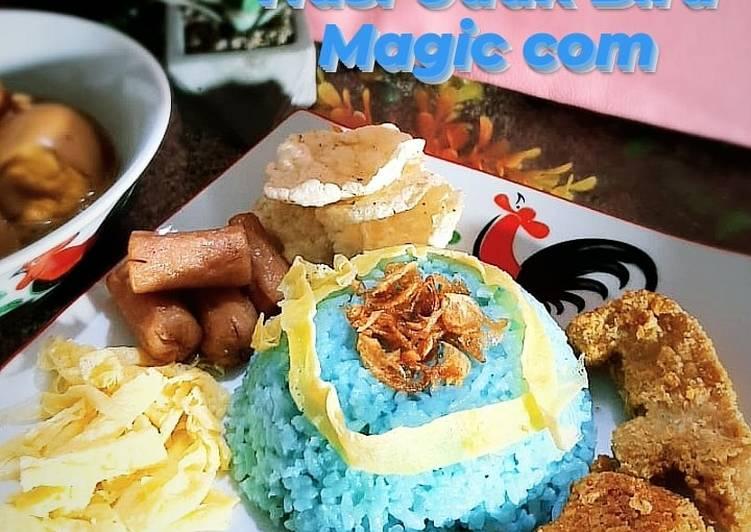 Nasi Uduk Biru (magic com)💙