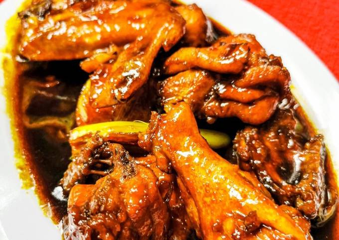 Ayam masak kicap ABC