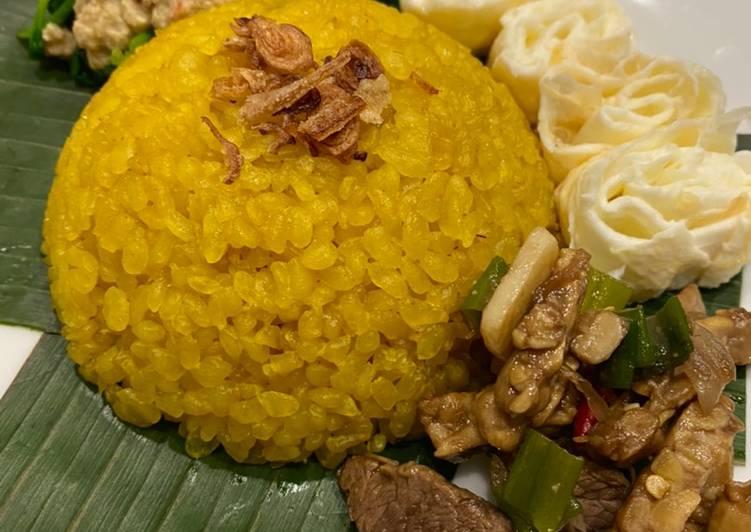 Nasi kuning Shirataki