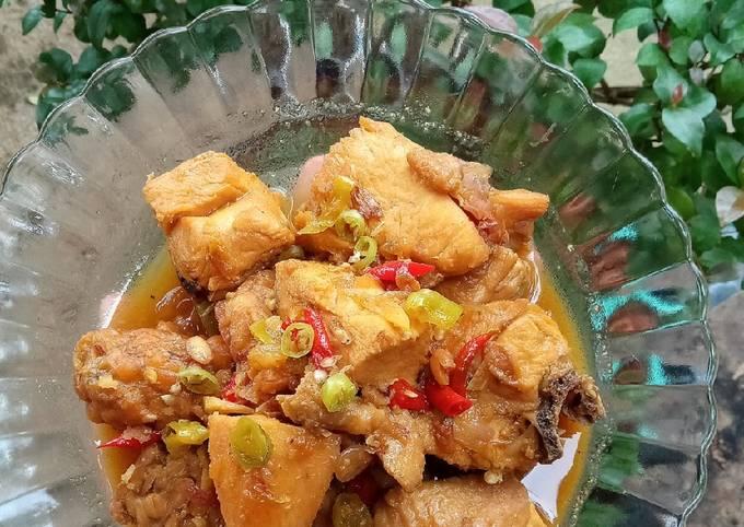 Ayam Kecap Mantap