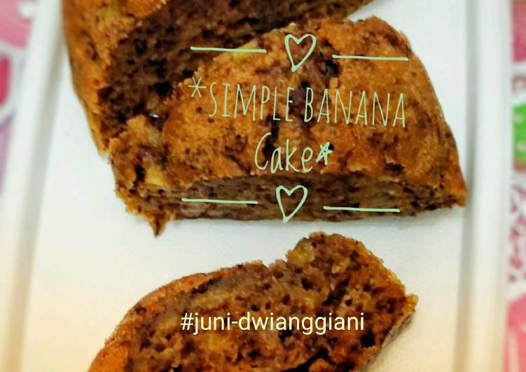 Banana Cake nan Gampang