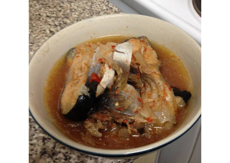 Steps to Make Perfect Fish peper soup