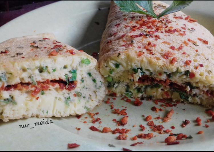 Resep Souffle omelette ala anak kost Terbaik