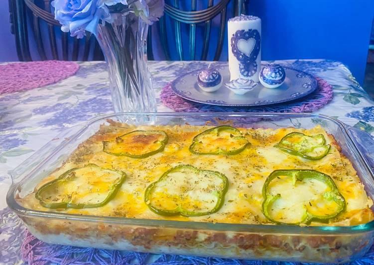 Recipe of Favorite Beef Mince lasagna