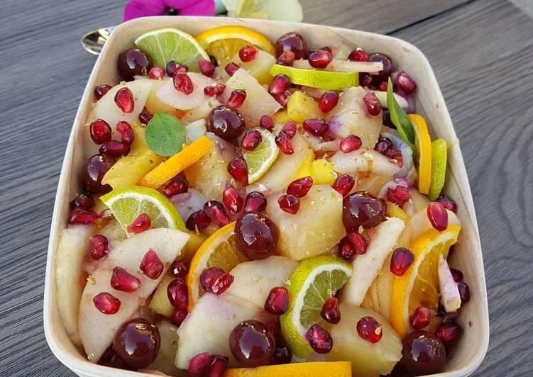 Comment Faire Des Salade de fruits