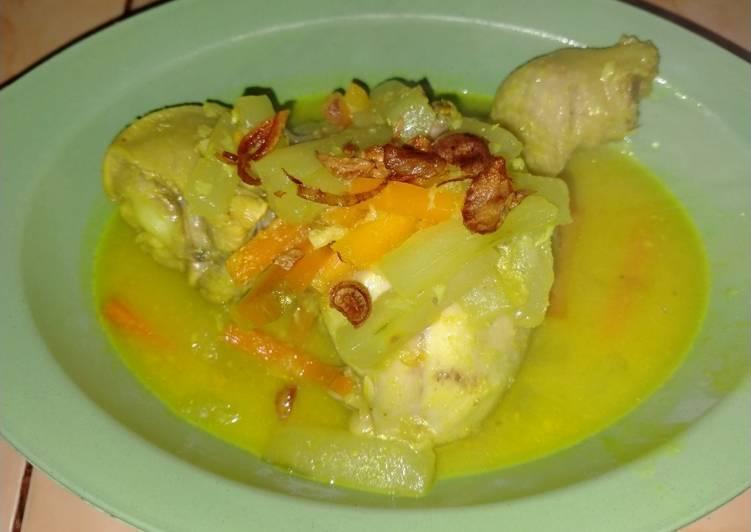 Ayam Bumbu Acar Kuning - cookandrecipe.com