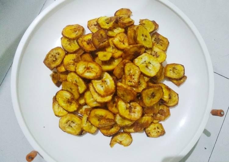 Recipe of Super Quick Homemade Kerala banana chips