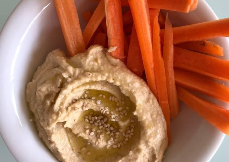 Hummus súper fácil