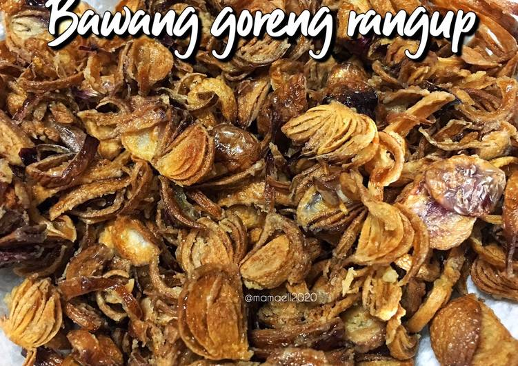 Bawang Goreng Rangup