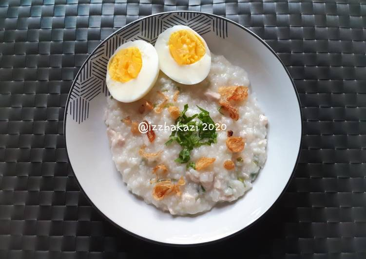 Bubur Ayam Gurih (Tanpa Kuah dan Santan)