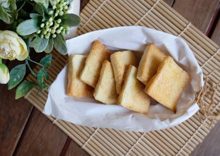 Resep Bagelan Roti Kering Praktis Favorit