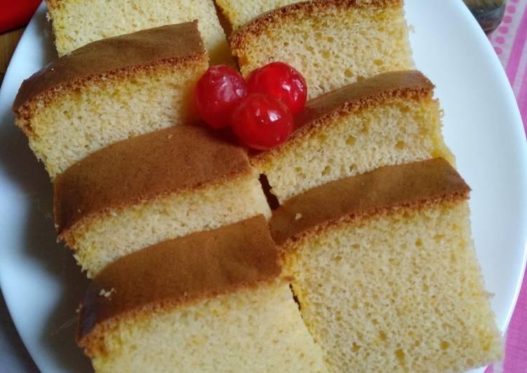 Pumpkin Ogura Cake