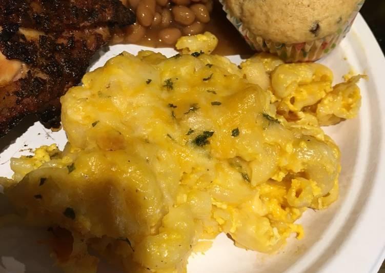 👊 🏼P-lo's Semi Homemade -  😝 Macaroni And Cheese 👊🏼😋