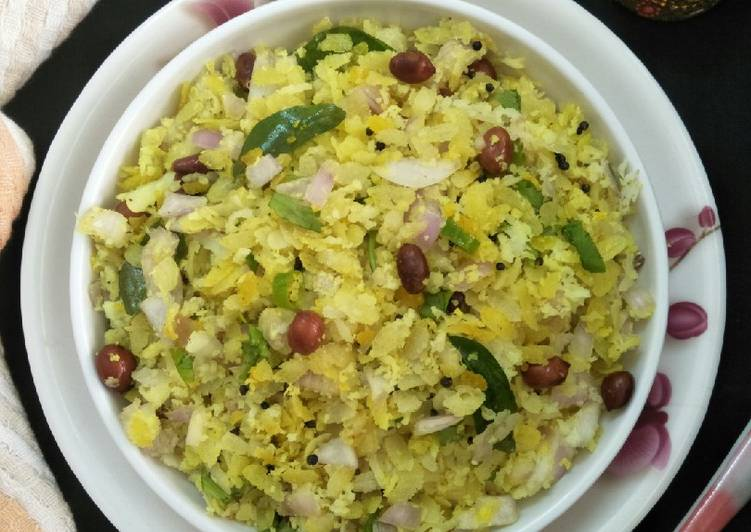 Recipe of Ultimate Dadpe Pohe