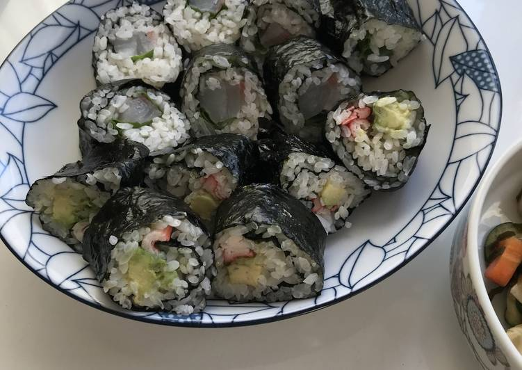 Recipe: Yummy Nori Roll Sushi (Norimaki)