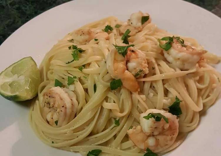 Top 10 Dinner Ideas Favorite Shrimp Scampi With Linguine