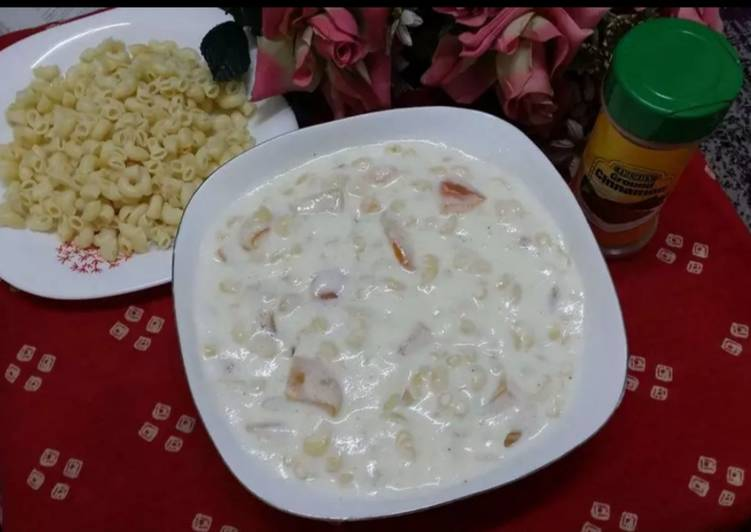 Classic Macaroni and Fruit Salad