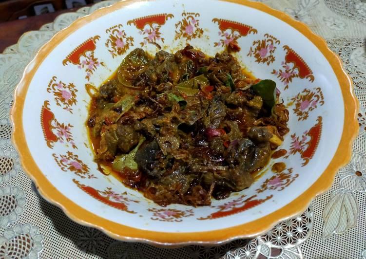 Daging Sapi Bumbu Bali