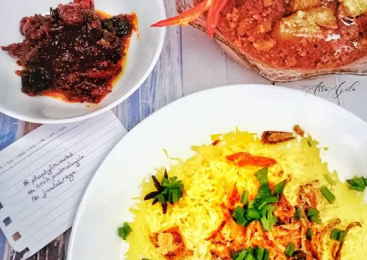 Nasi Minyak Kari Ayam #phopbylinimohd - velavinkabakery.com