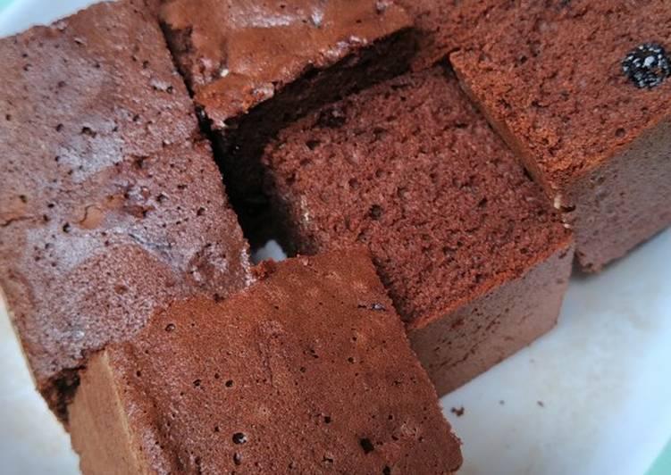 Brownis panggang/bolu coklat panggang