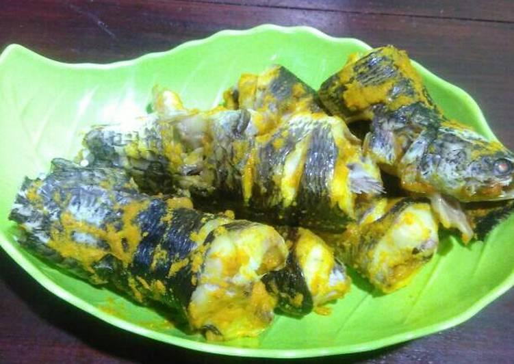 Resep Ikan Gabus Bumbu Kuning Panggang Oven oleh Mama Inaa - Cookpad