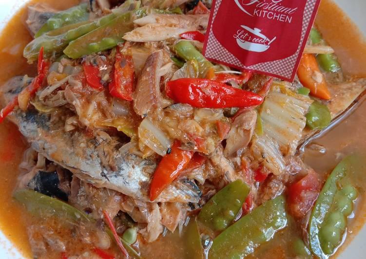 Ikan dan Sayur Masak Sarden