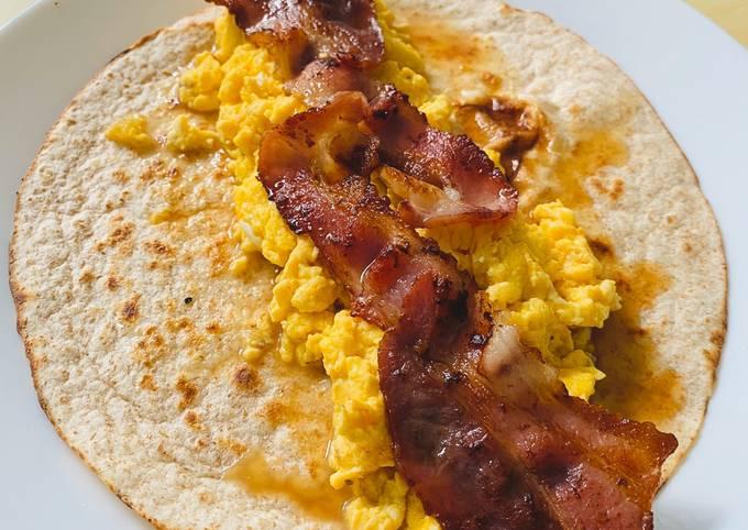 Recipe of Any-night-of-the-week Breakfast wrap