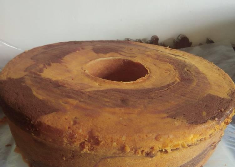Cake jadul ala Mamah Aura - cookandrecipe.com