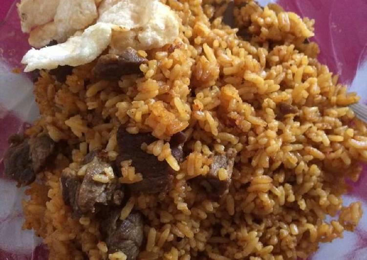 Nasi Goreng Daging Sapi Rempah